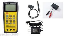 DER EE High Accuracy Handheld LCR Meter DE-5000 bundle TL-21 /TL-22 /AC Adapter