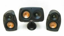 Klipsch speakers diffusori RSX-3/RCX-3 due vie stereo home audio hi end casse