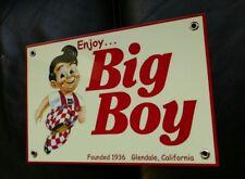 Big Boy Hamburgers sign ...restaurant fast food