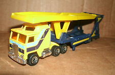 1/90 Scale Kenworth K-100 Aerodyne Car Carrier Model Matchbox Convoy Truck CY-1