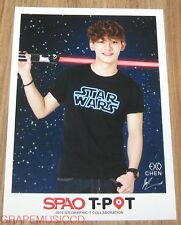 EXO SPAO T-POT CHEN PHOTO CARD PHOTOCARD NEW