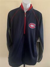 New Montreal Canadiens Mens Size L Navy G-III Full Zip Jacket