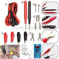 16pcs Universal Multimeter Cable Multifunction Digital Test Lead Probe Kit Set