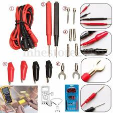 16pcs Kit Universal Multifunction Digital Test Lead Multimeter Probe Cable Set