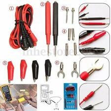 16pcs Universal Multimeter Cable Multifunction Digital Test Lead Probe Kit Set