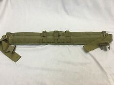 Eagle Industries Operator Gun Belt Padded Medium Khaki SEALs SFLCS