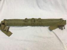 Eagle Industries Operator Gun Belt Padded Medium Khaki SEALs SFLCS