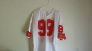 NFL Wilson Tampa Bay Bucs Buccaneers Warren Sapp #99 White Football Jersey XXL