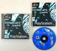 Playstation Spiel SYNDICATE WARS dt. PAL Ovp