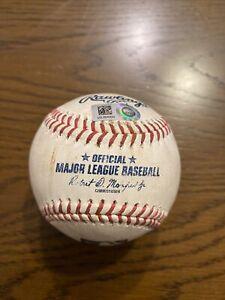 Luke Voit Game Used 2021 SINGLE Baseball - 7/6/21 - NY Yankees at Seattle - MLB