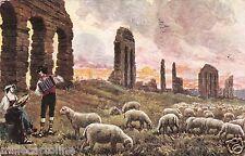 # ROMA: CAMPAGNA ROMANA - dis. Raimondi - 1917