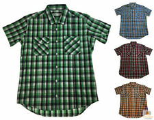 Unbranded Short Sleeve Button-Front Casual Shirts for Men