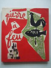 MARCHAND André - Pierre à feu - EO Ex N°/Vélin Signé 50 Lithographies 1945 TBE