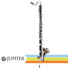 Jupiter JBC1000N ABS Resin Body with Adjustable Floor Peg Bass Clarinet w/ Case