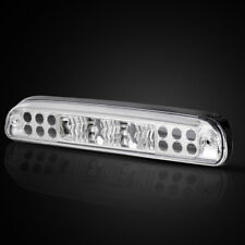 for 99-16 Ford F-250 F-350 F-450 LED Clear Rear 3rd Third Brake Light Cargo Lamp