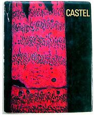 SIGNED LITHOGRAPH Jewish ART BOOK Jerusalem MOSHE CASTEL Ofakim HADASHIM Judaica