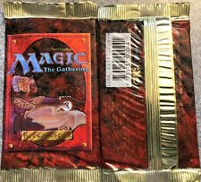 MTG - factory sealed Portuguese language Fourth Edition booster pack