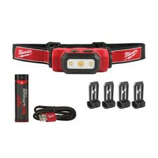 Milwaukee L4HL-201 4V 475Lumens USB Rechargeable Hard Hat Headlamp Work Light