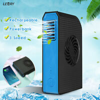 Portable Fan Handheld USB Rechargeable Electric Air Cooler+  6000mAh Power  *