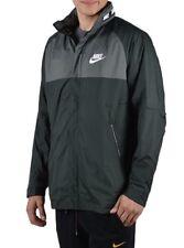 Nike Hombre AV15 Sudadera con Capucha y Cremallera Chaqueta Top Verde 861750-332