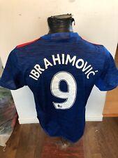 MENS Med Adidas Soccer Football Futbol Jersey Manchester United #9 Ibrahimovic