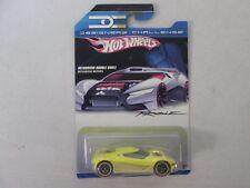 Hot Wheels Designer's Challenge Mitsubishi Double Shotz Yellow