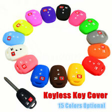 4 Buttons Silicone Remote Key Cover Case Holder FOR Toyota Corolla Camry 14 15