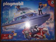 Playmobil 4429 Lancha policia police policial rescue City life