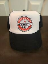 Bintang Pilsener Beer Bali Trucker Snapback Adjustable Hat Black