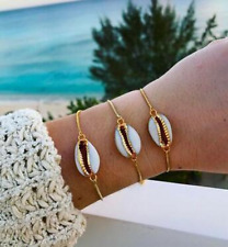 1 Pcs Women's Cowrie Beach Anklet Natural Shell Pendant Chain Bohemian Bracelet