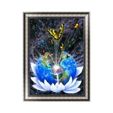 The Earth DIY 5D Diamond Embroidery Painting Rhinestone Cross Stitch Decor Gift