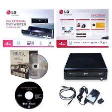 LG GE24NU40 External Portable USB 2.0 M-Disc CD DVD Burner Drive Writer MAC/WIN