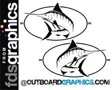 Pair of Bayliner Trophy Marlin sticker/decals
