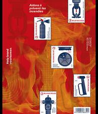 Belgie  2017  Brandpreventie  brandweer   velletje     postfris/mnh