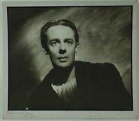 "Angus McBean, walisischer Fotograf, Fotografie ""Alec Clunes"" signiert"