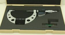"Mitutoyo 422-333 BLM-4"" M Blade Micrometer, 3""-4"", 0.00005""/0.001 mm - Free Ship"