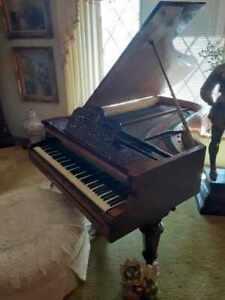 Stunning    Bosendorfer   grand  piano