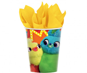 Toy Story Party Cups 266ml Pack of 8 (Ducky & Bunny)