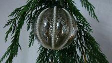 Décorations de sapin de Noël argentées sans marque noël