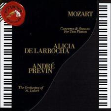 Mozart:  Concerto & Sonata for 2 Pianos, Alicia De Larrocha