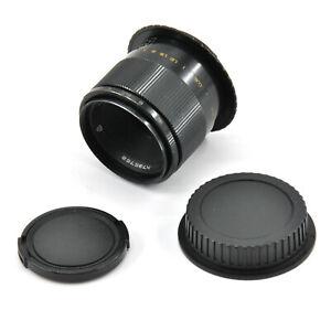 Serviced Industar 61 L/Z-MC 50mm F2.8 Macro Lens For M42/Canon EF Mount!