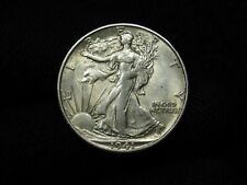 1941-S Liberty Walking Half Dollar CHOICE AU