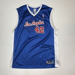 Reebok Los Angeles Clippers Elton Brand Reebok Blue NBA Jersey Size Mens 2XL