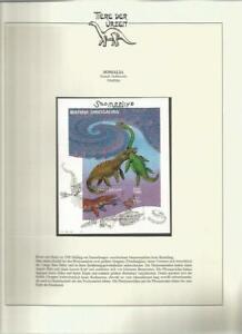 81597/ Dinosaurier Fauna Tiere ** MNH OHNE VORDRUCK SOMALIA