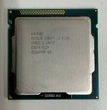 Intel 2nd Gen i3-2100 3.1 GHz Dual Core CPU Processor LGA-1155 SR05C