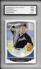 2013 Bowman # TP22 Noah Syndergaard Rookie Card NY Mets Ace Graded PGA 10 Gem