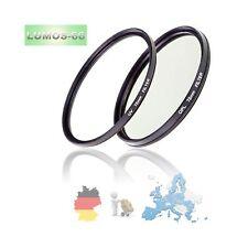 Set Polfilter & UV Filter slim mit Box für Kamera Objektive mit 72mm Anschluß