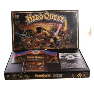 MB Spiele Hero Quest Basisspiel Brettspiel 100 % Komplett / Vollständig