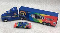 Racing Champions 1995 Dupont Racing Team Hauler & #24 Race Car Jeff Gordon