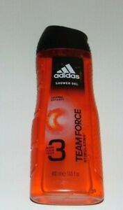 ~NEW Men's ADIDAS Orange Extract Team Force Shower Gel Nice*